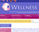 Wellness Kliniek website